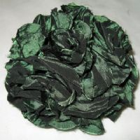 Forest Green Flower Corsage -xx22